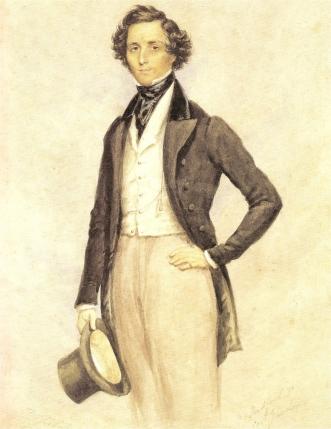 Felix Mendelssohn, at King Edward's School