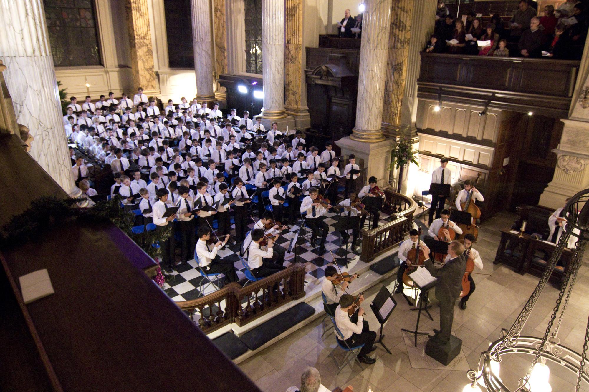 King Edward's School, music department, KES Choir, Carol Service (1)