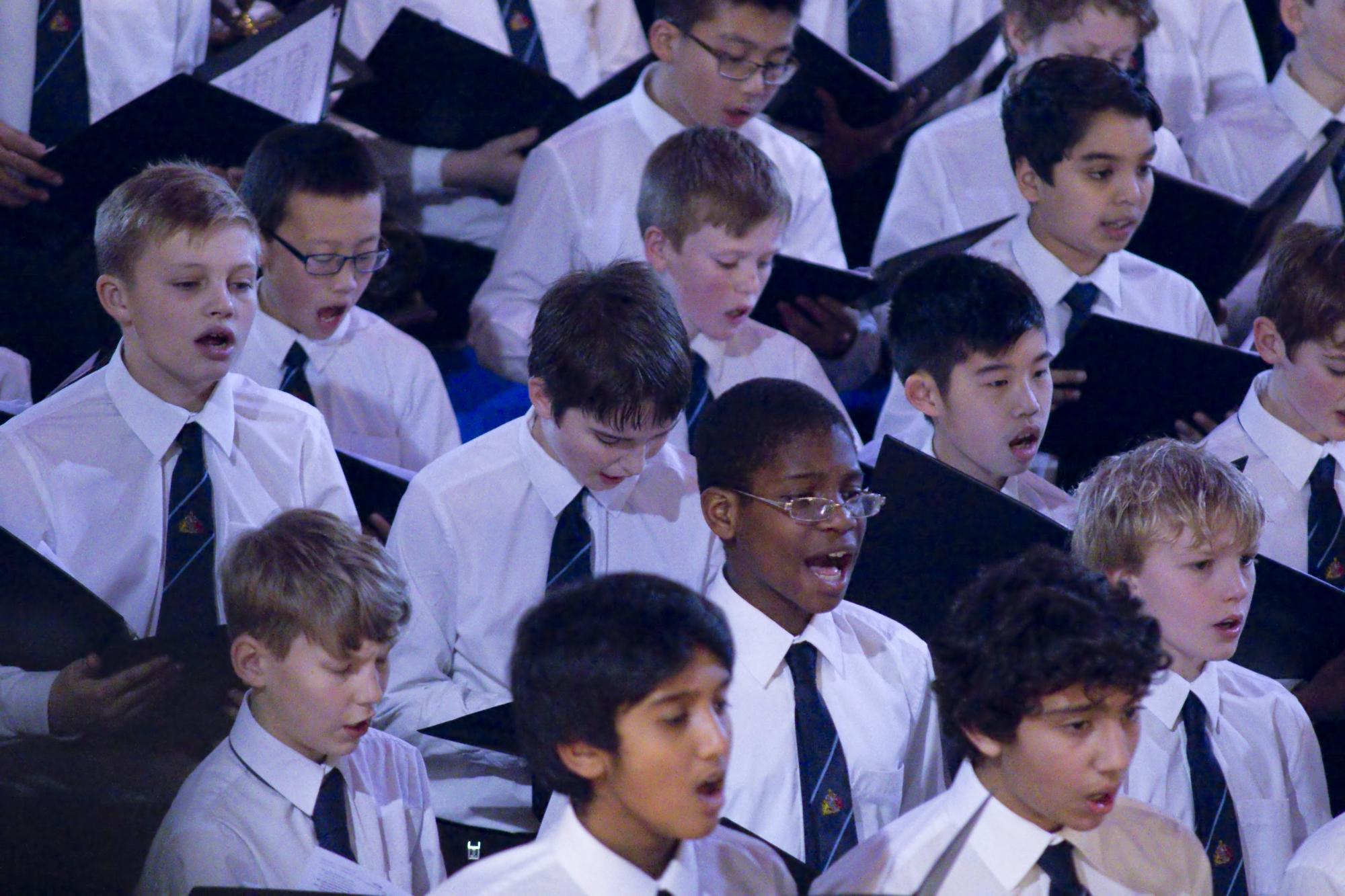 King Edward's School, music department, KES Choir, Carol Service (2)