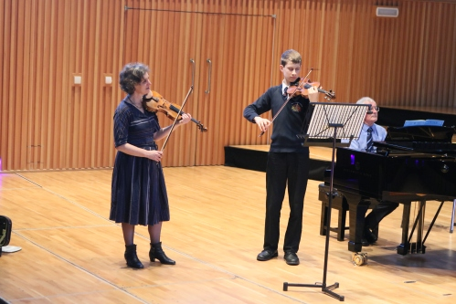Music at King Edward's School: masterclass with Krysia Osostowicz
