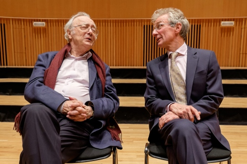 Alfred Brendel at King Edward's School, Birmingham
