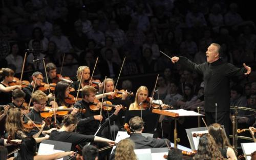 King Edward's School Birmingham: National Youth Orchestra at the BBC Proms 2015