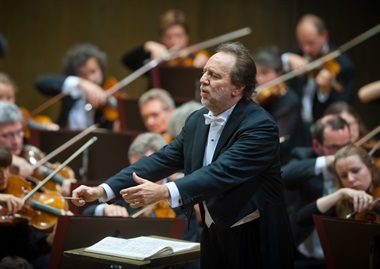 Riccardo Chailly and the Leipzig Gewandhaus Orchestra, a trip offered by music at King Edward's School, Birmingham