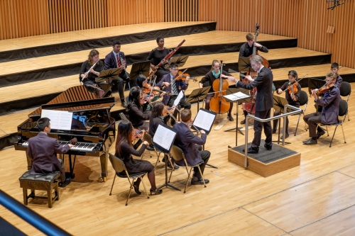 Music at King Edward's School Birmingham: a performance of Appalachian Spring by Aaron Copland
