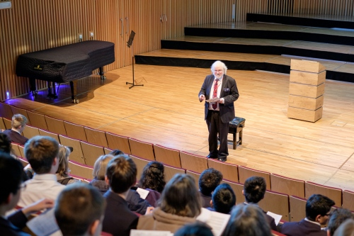 Professor Robert Pascall's Brahms lecture at King Edward's School, Birmingham