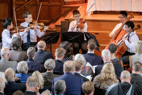 Music at King Edward's School, Birmingham: Boccherini Quintet at Speech Day, summer 2016