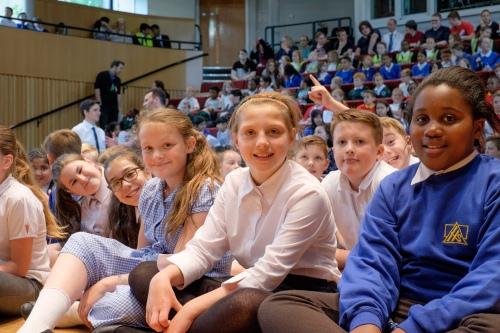 Rehearsing Romany Wood at King Edward's School