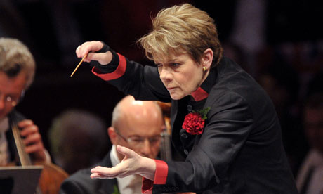 Marin Alsop conducting Last Night of the Proms -- Music at King Edward's School, Birmingham