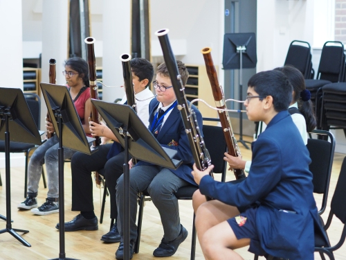Margaret Cookhorn and the bassoons of King Edward's School, Birmingham
