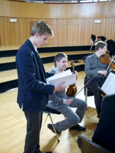 Music at King Edward's School, Birmingham: string quartet recordings by CBSO