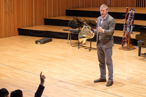 Music at King Edward's School, Birmingham: Tom Redmond working with our Shells