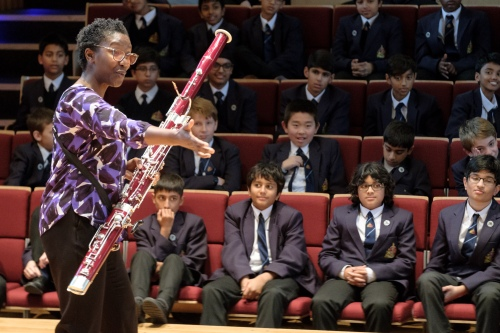 Music at King Edward's School, Birmingham: Margaret Cookhorn on BBC Radio 3