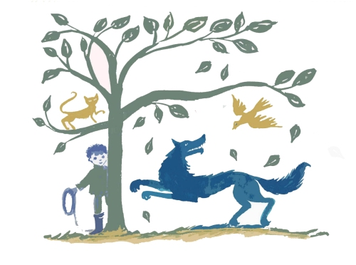 Music at King Edward's School, Birmingham, Peter and the wolf