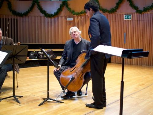 Music at King Edward's School, Birmingham -- CBSO recordings of boys' string quartets (2)