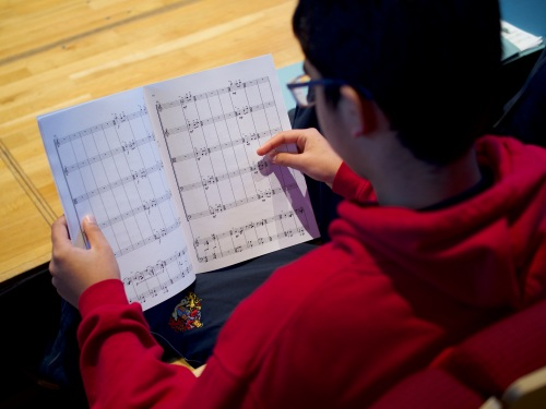 Music at King Edward's School, Birmingham -- CBSO recordings of boys' string quartets