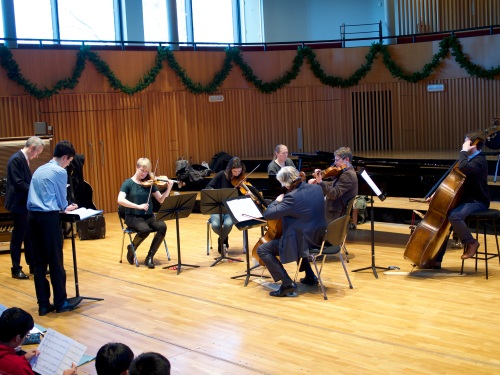 Music at King Edward's School, Birmingham -- CBSO recordings of boys' string quartets (3)
