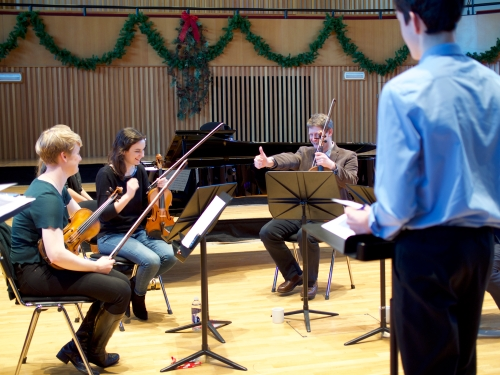 Music at King Edward's School, Birmingham -- CBSO recordings of boys' string quartets (4)