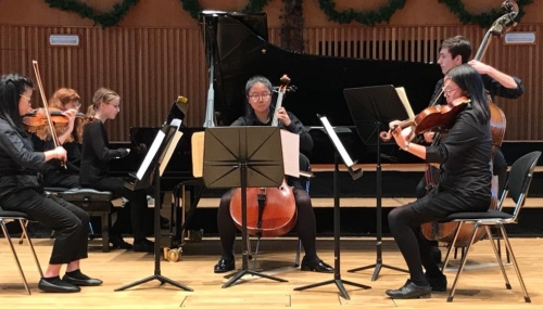 Music at King Edward's School, Birmingham -- Schubert's Trout Quartet
